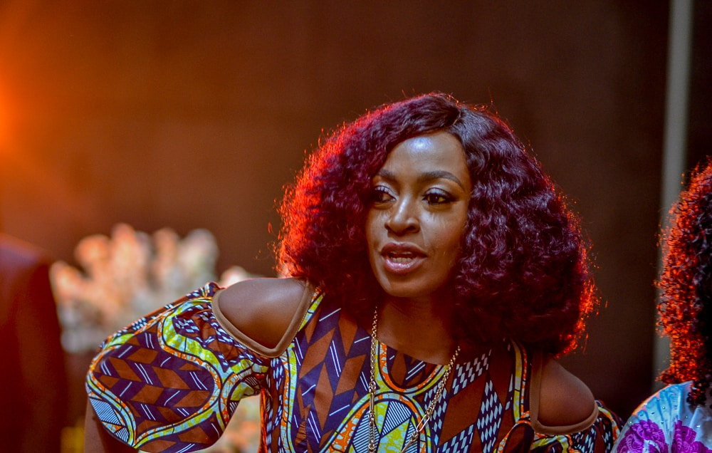 Kate Henshaw shares DM from a fan worried that she is not married