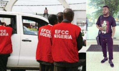 'MC Galaxy has been going to EFCC for questioning' - IG blogger claims