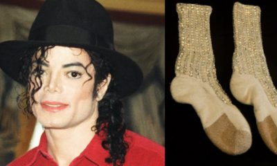 Michael Jackson's first moonwalk socks up for sale from $1-2 Million