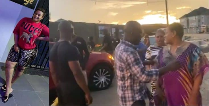 Nkechi Blessing cries out after an encounter with 'area boys' on movie set (Video)