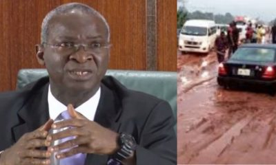 'Our roads are not as bad as they are portrayed' - Babatunde Fashola