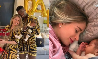Paul Pogba reveals his son's face for the first time (Photos)