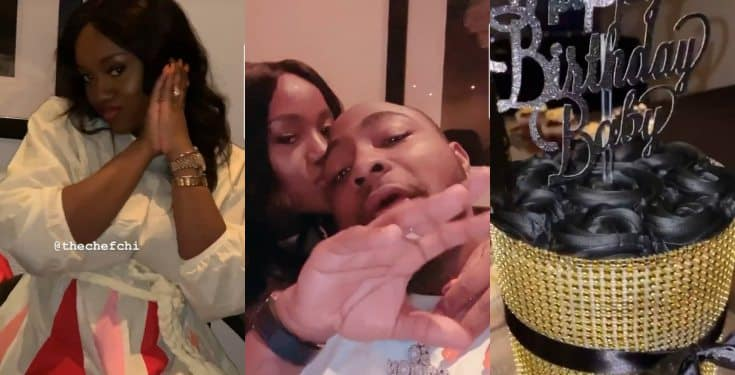 Photos and video from Davido's 27th birthday dinner