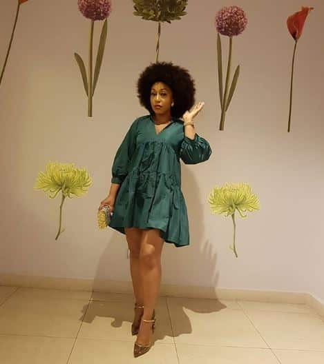 What Nollywood actress, Rita Dominic said about Mercy and Ike