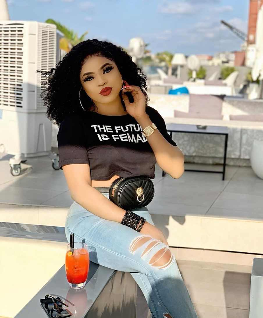 """""""N30million in 6 months""""- Bobrisky says as he shows off bank statement"""