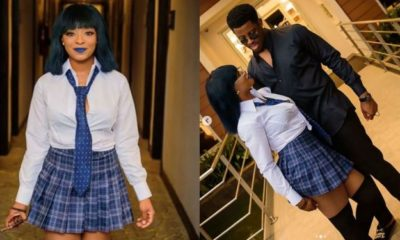Seyi writes heartfelt message to celebrate his girlfriend's birthday (photos)
