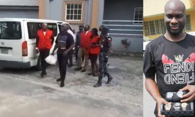 Suspected internet fraudster, Mompha arrives in court (video)