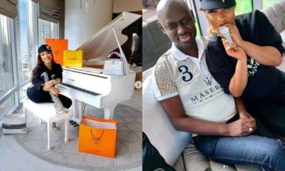 Timi Frank gifts Tonto Dikeh a luxury wrist watch and an apartment in Dubai