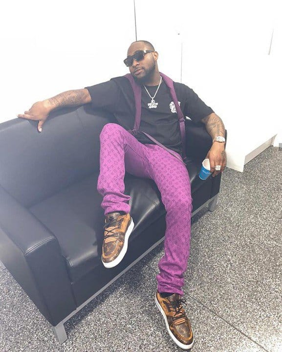 "(Video) Davido says as he visits Tyler Perry's studios  - ""2020 go loud"" thumbnail"