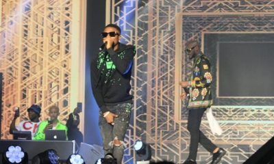 """2baba inspired me to make music"" – Wizkid declares at #2babaLive"