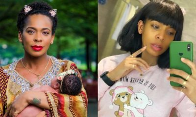 """I'am not a baby mama"" - TBoss tells a follower"
