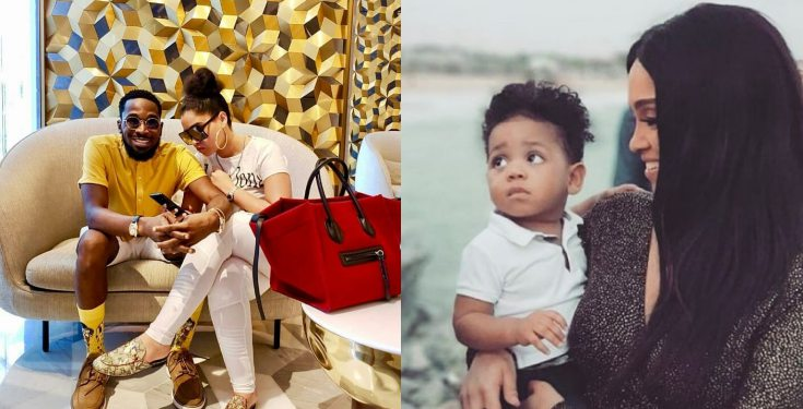 """Image result for """"My Heart Will Forever Be Missing A Piece"""" – D'Banj's Wife Remembers Late Son"""
