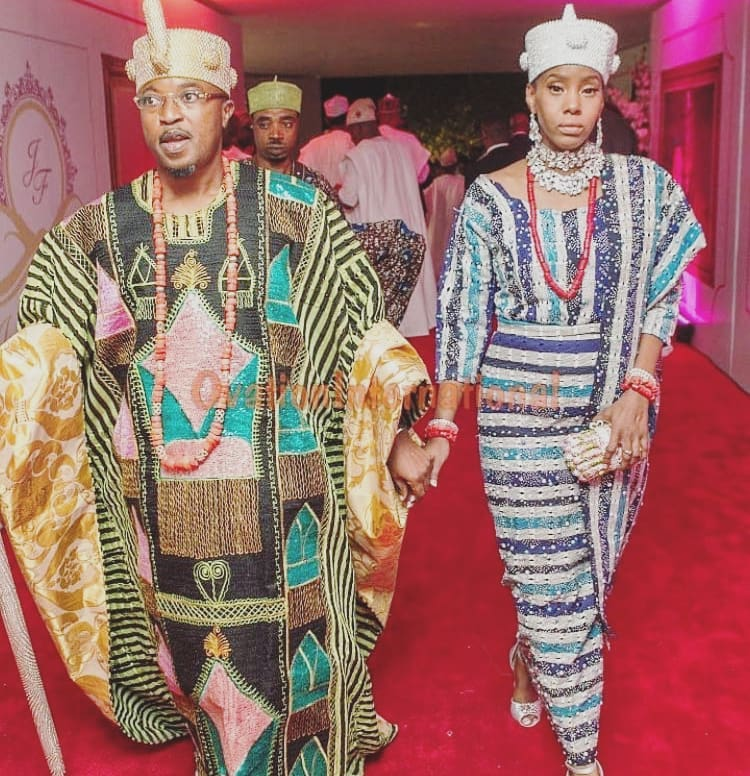 Oluwo of Iwo lays curse on critics over failed marriage with Chanel Chin
