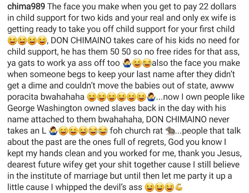 'I whipped the devil's ass' – Juliet Mgborukwe's ex-husband Chima Ojukwu mocks her
