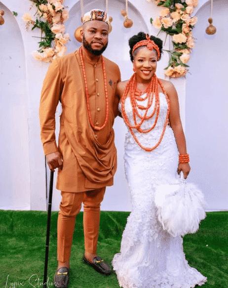 Photos from Sandra Ikeji and Arinze's traditional wedding
