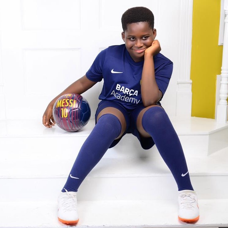 Comedian Bovi narrates his son's scary birth story as he turns 10