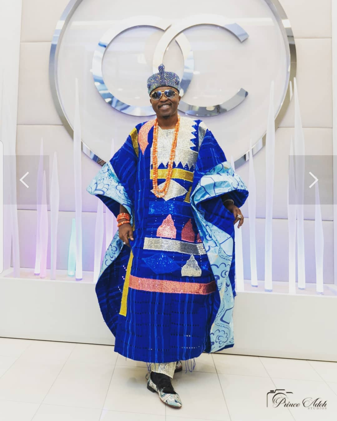 "Oluwo of Iwo announces separation from his wife ""Chanel chin ..."