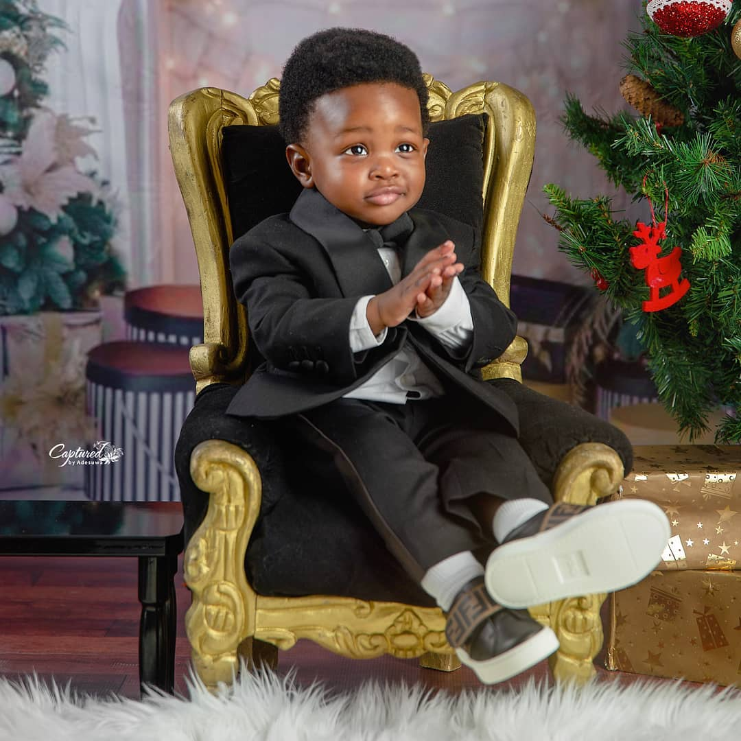 Toolz shares her son photos as he turns one
