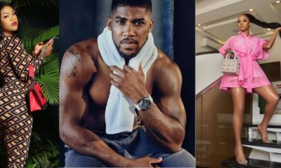 Anthony Joshua: 'Leave my husband alone' – Toke Makinwa tells Daniella Okeke
