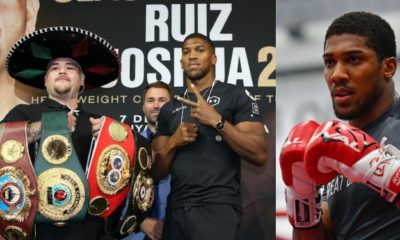 Anthony Joshua set to earn $85 million from his rematch with Andy Ruiz Jnr