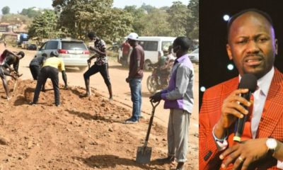 Apostle Suleman starts work on Abuja/Okene Express way