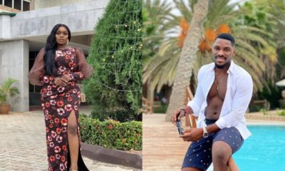 Bad breath: Bisola subtly replies Tobi