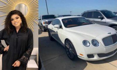 Bobrisky announces the arrival of his Bentley (photos)