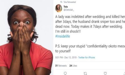 Couple allegedly commit suicide over wedding debt