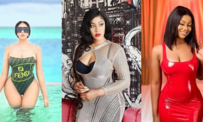 Dencia replies troll for involving her in Tacha and Angela Okorie issue