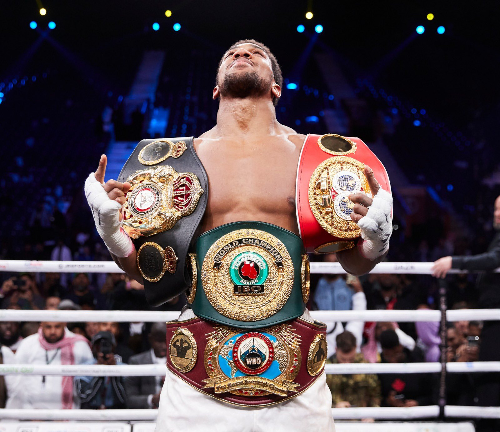 'I won't chase a fight with Deontay Wilder' – Anthony Joshua