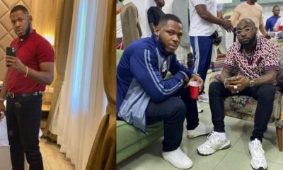 Frodd Hangs Out With Davido In Abuja