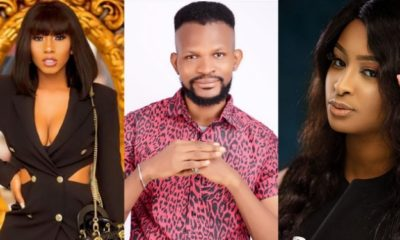"Bible not responsible for your spiritual mumu, beg Mercy for intelligence"" – Uche Maduagwu slams Etinosa"
