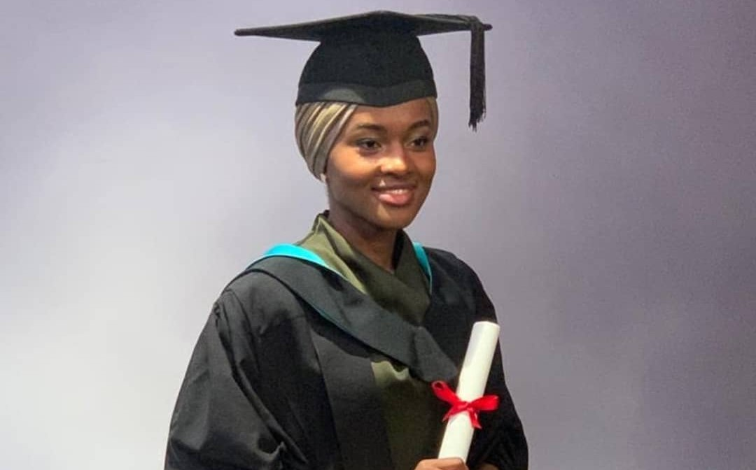 Image result for picture of president buhari's daughter Hanan graduation in the Uk
