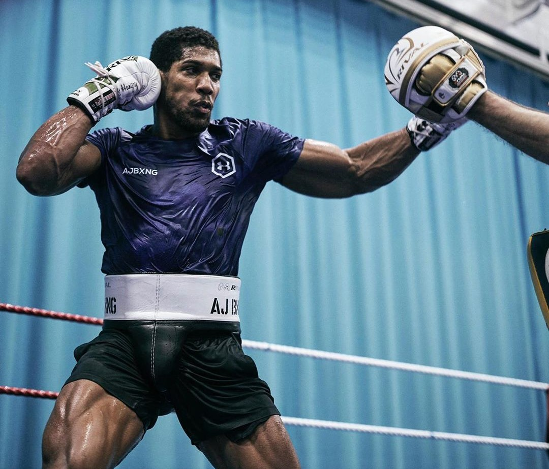 """There's no fear in my mind""- Anthony Joshua shows confidence ahead rematch with Ruiz"
