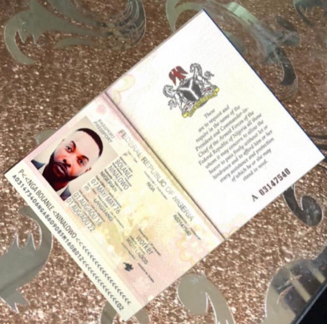 ATM card and Passport faked with my identity to defraud people - Ninalowo Bolanle