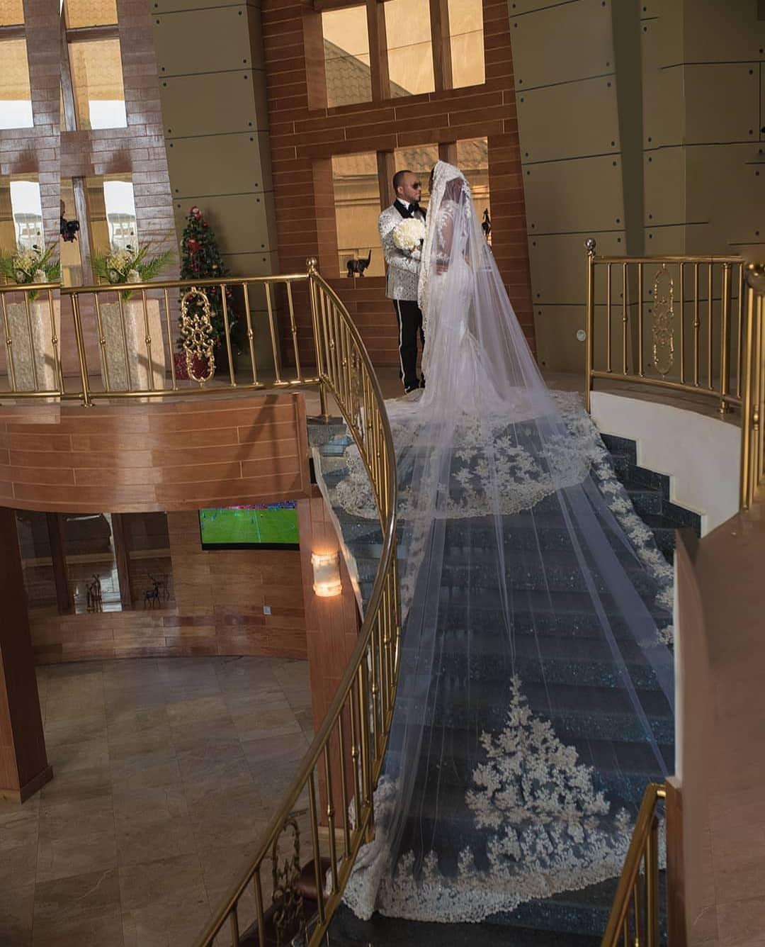 Chizzy Alichi posts her white wedding photos