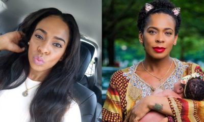 Nigerians react as Tboss claims she spoke her daughter into existence
