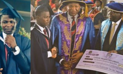 Nigerians react as best graduating student in OAU gets ₦100,000 award prize