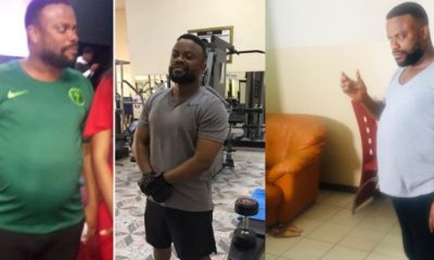 Okon Lagos shows off unbelievable body transformation