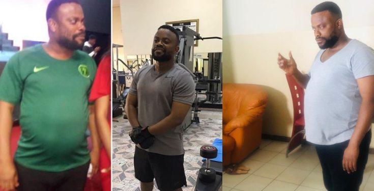 Okon Lagos shows off unbelievable body transformation