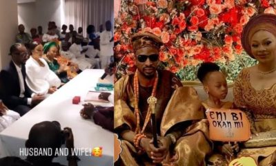 Photos from 9ice's traditional engagement and court wedding to Olasunkanmi