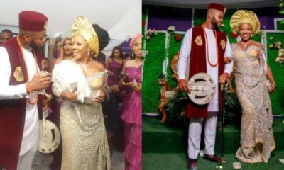 On Saturday December 28, Sandra Ikeji and her husband Arinze, held their traditional marriage at her hometown in Nkwerre, Imo state.