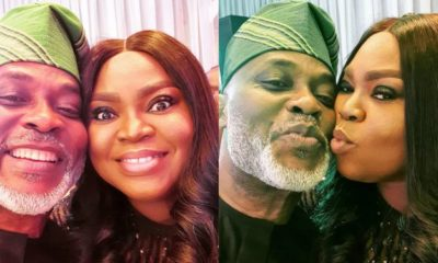 Richard Mofe-Damijo and wife celebrate 19th wedding anniversary