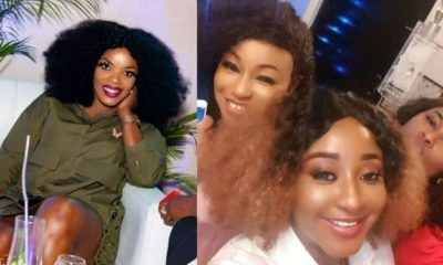 Trolls slams Empress Njamah after Rita Dominic failed to Invite her to her party