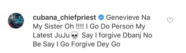 Cubana chief priest warns Wizkid to stay away from Genevieve Nnaji
