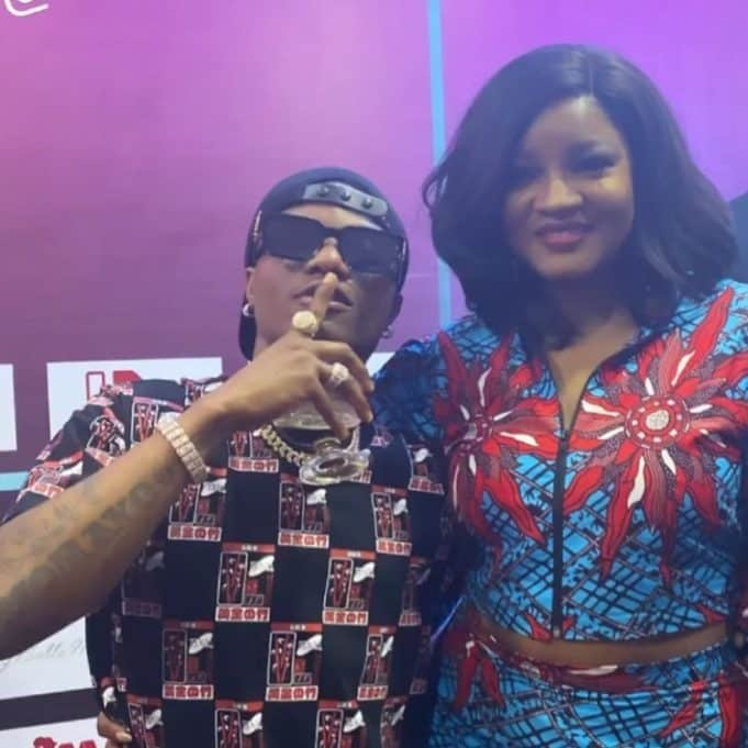 Outrage As Genevieve, Omotola, Wizkid Hang Out Together