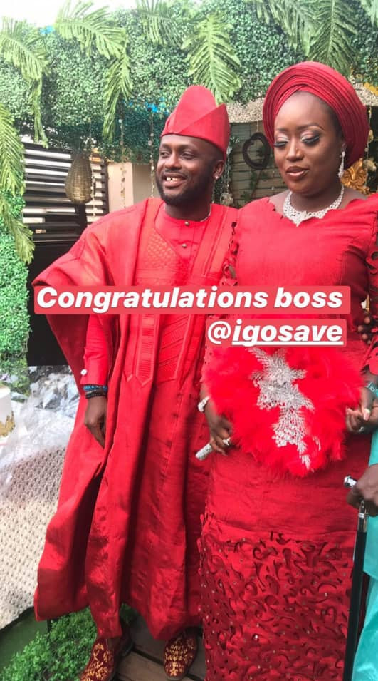 Photos from comedian, I Go Save's introduction ceremony
