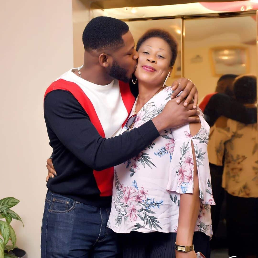 Frodd celebrates his mum on her 50th birthday