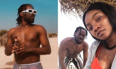 Adekunle Gold and Simi celebrate their wedding anniversary in Cape Verde (photos)