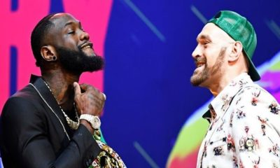 Deontay Wilder and Tyson Fury trade insults and threaten each other ahead of rematch (video)